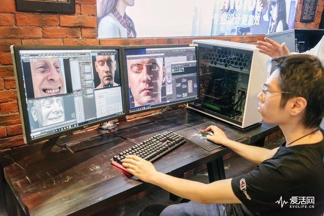 影视后期制作电脑配置_使用core i7-7700k cpu的后期效果专机系统,这台还比较像我们印象中的